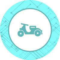 Vespa-Icon-Design vektor