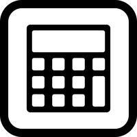 Kalkylator Icon Design
