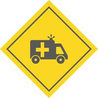 Krankenwagen-Icon-Design