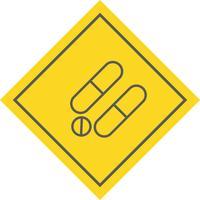 Arzneimittel-Icon-Design vektor