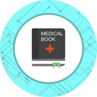 medicinsk bok ikon design vektor