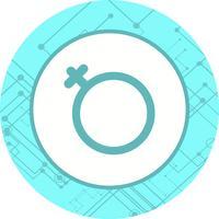 Weibliches Ikonendesign vektor