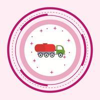 Tankwagen-Icon-Design