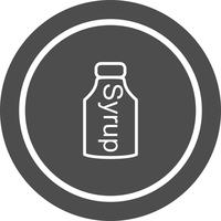 Syrup Icon Design vektor
