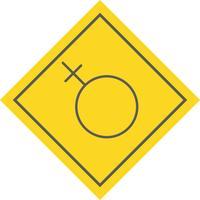 Kvinna Icon Design