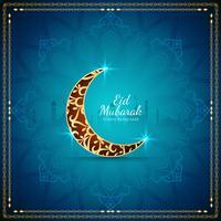 Abstrakter islamischer Festivalhintergrund Eid Mubarak