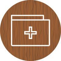 Medicinsk mapp ikondesign