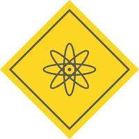 Atom-Icon-Design vektor
