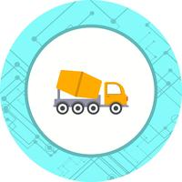 Betonmischer-Icon-Design