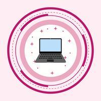 Laptop-Ikonendesign
