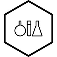 Reagenzglas-Icon-Design