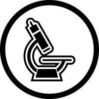 Mikroskop-Icon-Design