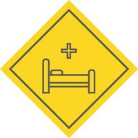 säng ikon design