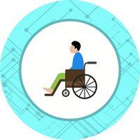 Behinderte Icon Design