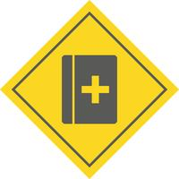 medizinisches Buch-Icon-Design