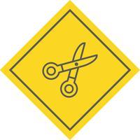 Schere Icon Design
