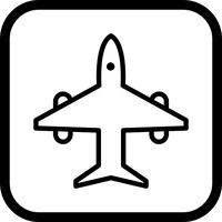 Flugzeug-Icon-Design