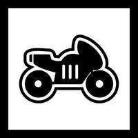 Fahrrad-Icon-Design vektor