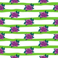 nahtloses Muster der Blumenrose, nahtloses Muster der Vektorblumenrose, Blumenhintergrund