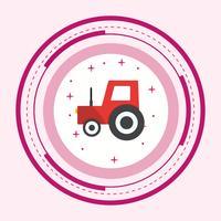 Traktor Icon Design