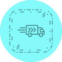 Lieferwagen-Icon-Design