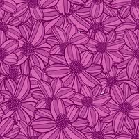 blomma sömlösa mönster, blomma bakgrund konsistens, blommor sömlösa mönster
