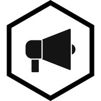 Ankündigung Icon Design