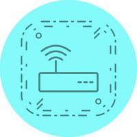 WiFi-Icon-Design vektor