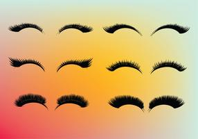 Falsche Wimpern Vector Pack