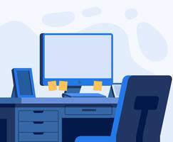 Büro-Illustration vektor