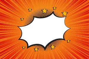 Comic Talbubbla, Tecknad - Vektor