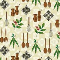 Vintage Küchengerät Muster