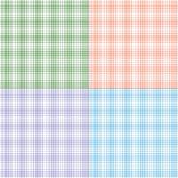 Pastellköper-Plaids vektor