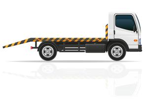 Abschleppwagen für Transportstörungen und Notfallwagen vector illustration