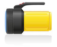 Taschenlampe-Vektor-Illustration