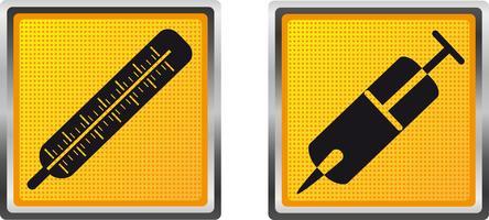 ikoner medicin för design vektor illustration