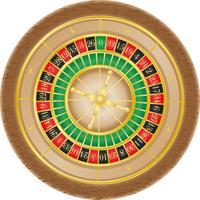 Roulette-Casino-Vektor-Illustration