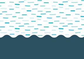 Gestrichelte Wellen Hintergrund vektor