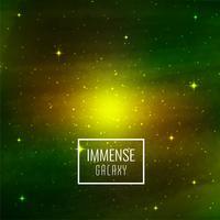 Abstrakter Galaxieplatzhintergrund vektor