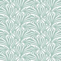 Abstrakt geometrisk mönster Våg sömlös textur. Blom- prydnad vektor