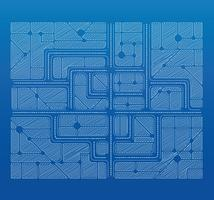 Blaupausenplan vektor