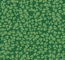 Tropkalen lämnar sömlöst mönster. Vacker blommig blad bakgrund. vektor