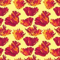 Abstraktes nahtloses mit Blumenmuster. Sommer-Blumenhintergrund.