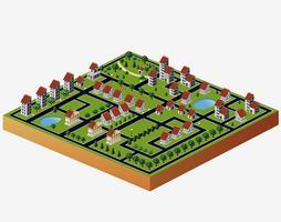 Dorfhäuser vektor