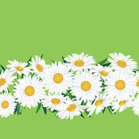 Abstraktes nahtloses mit Blumenmuster. Sommer-Blumenhintergrund. vektor