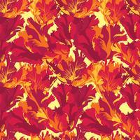 Nahtloses Muster des abstrakten Blumenblumenblattes. Strukturierter Hintergrund vektor