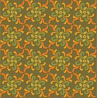 Abstrakt blommig sömlös textur. Snyggt orientaliskt blommönster