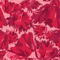 Abstrakt blomma kronblad sömlöst mönster. Texturerad bakgrund