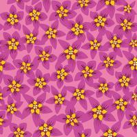 Nahtlose Blümchenmuster Blumen Hintergrund Garten Textur vektor