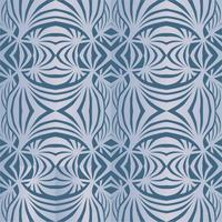 Abstrakte geometrische Muster Nahtlose Beschaffenheit der Welle. Blumenverzierung vektor